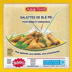 galette de blé péi pour nems et samoussas